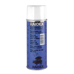 Raidex spray porc / bovin bleu 400ml