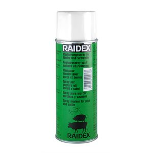 Raidex spray porc / / bovin vert 400ml