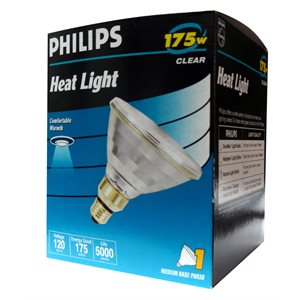 Ampoule philips blanche 175w
