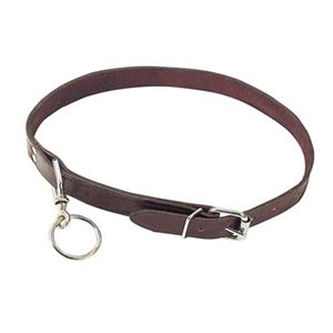 Collar Leather Calf With Eye Ring