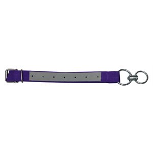 Collier veau economique nylon + attache violet