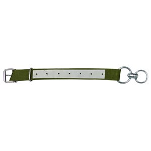 Collier veau economique nylon + attache kaki