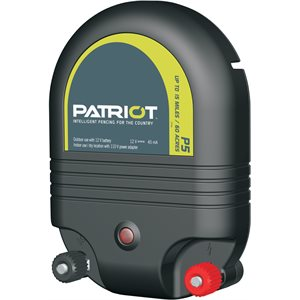 Patriot P5 Dual Energy Fence Charger