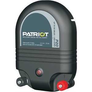 PATRIOT P20 Dual-Energy Fence Charger 2J