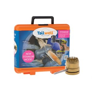 """Tailwell Titanium""  Taille Queue Complet"