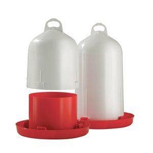 CHICK'A Poultry Drinker -  Double Cylinder 6l