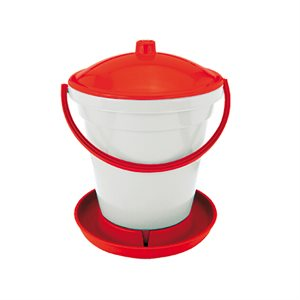 CHICK'A  Bucket Poultry Drinker With Float and Handle 18l