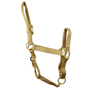 Licou cheval beige medium*disc